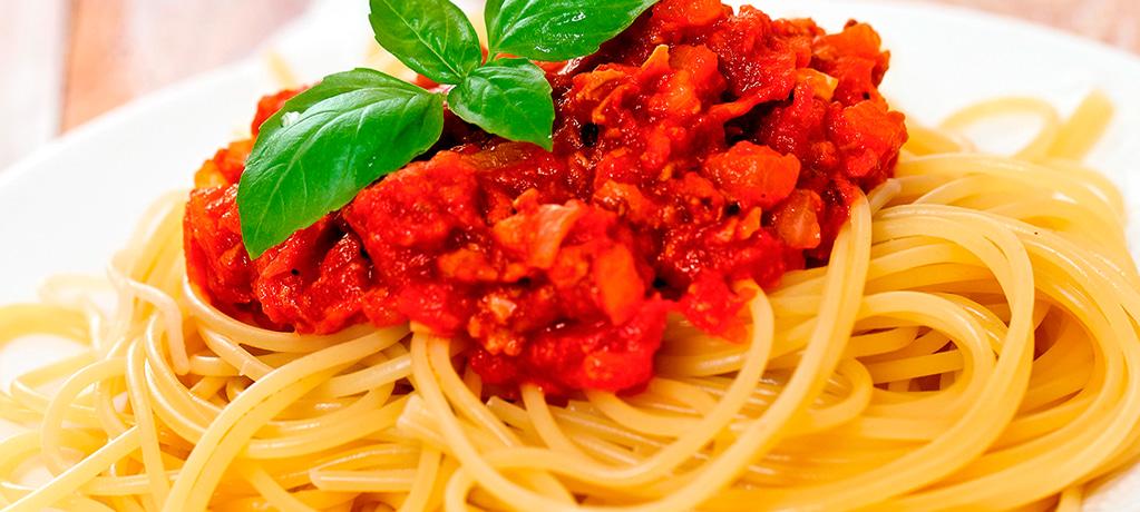 Ароматные спагетти болоньезе